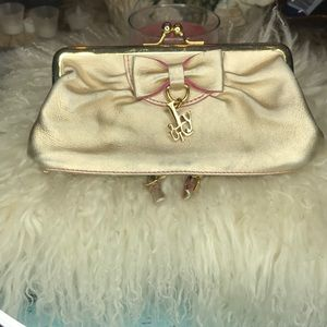 Juicy couture god clutch amazing design